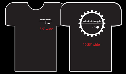 INDUSTRIAL STRENGTH CLASSIC T-SHIRTS