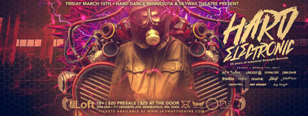 PARTY Fri March 10 - Hard Electronic Years OF ISR
